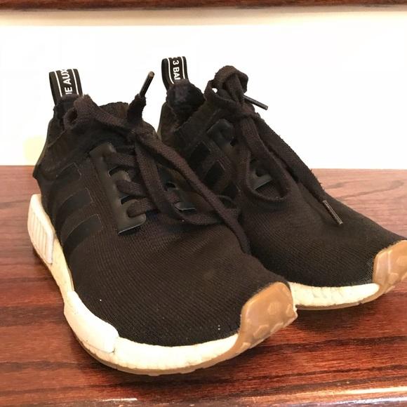 Ajustable Asser Pico  adidas Shoes   Adidas Nmd Black Gum Sole   Poshmark